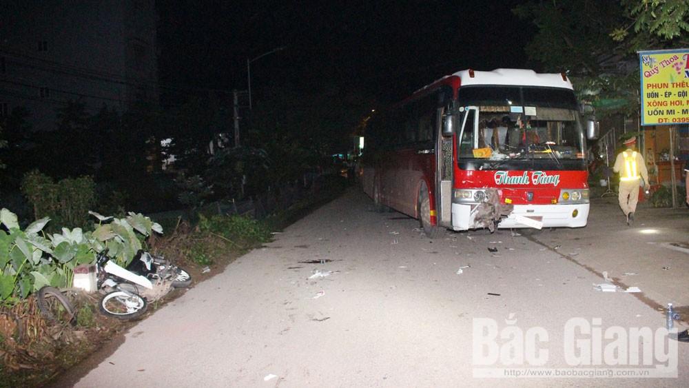 Tai nạn giao thông ở Bắc Giang, chú rể tử vong trong ngày cưới